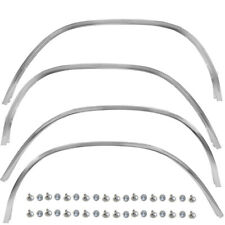 1973~1979 Ford Truck Wheel Opening Molding Set Front + Rear +ight + Left Side