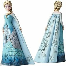 Jim Shore Disney Traditions Frozen Elsa Figurine Fortress of Frost Plus Olaf New