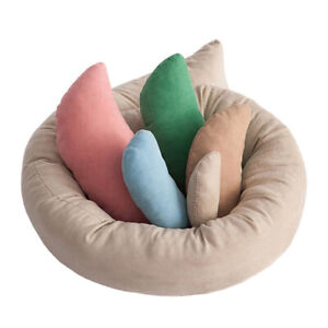 6pcs/Set Baby Photography Donut Ring Pillow Infant Shooting Posing Props