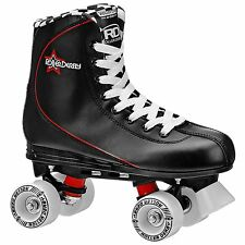 Roller Derby Roller Star 600 Mens Quad Skate Size 7 Black/ Red NEW