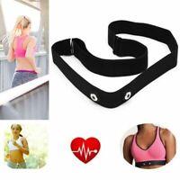 Chest Belt Elastic Strap for Garmin Wahoo Polar Sport Heart Rate Monitor Watch