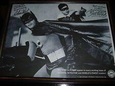 Batman RARE Photo Adam West Burt Ward-1966 National Periodical  DC Comics HTF