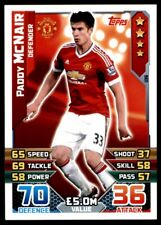Match Attax 2015/16 EXTRA Marcos Rojo U35 Manchester United Squad Updates