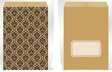 30pk Brown Craft Paper Candy Lolly Bag Wedding Birthday Party Event