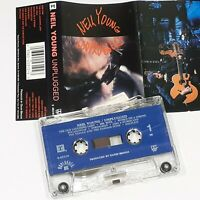 NEIL YOUNG UNPLUGGED 1993 US CASSETTE TAPE ALBUM MTV ROCK INDIE
