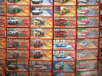 2019 Matchbox Power Grabs - Assorted Vehicles (more added 15/9) - Mint/Boxed