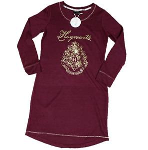 Ladies HARRY POTTER HOGWARTS OFFICIAL Nightdress Nightie Night Shirt UK 8 - 24