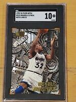 1995-96 Fleer Metal #215 Shaquille O'Neal SGC 10  Newly Graded