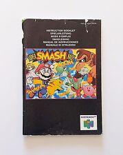 Manual Super Smash Bros. Nintendo 64 ¡¡Solo Manual!! (Original) (Eur) (N64)