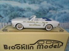 1/43  Brooklin models Ford mustang 1964 Indianapolis  pace car BRK.56x
