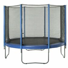 Upper Bounce Trampoline Enclosure Safety Net for Round Frames, 15 ft. / 8 Poles