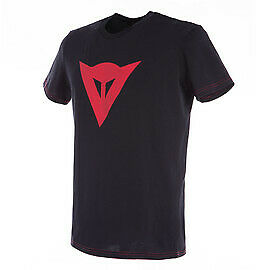 New Dainese Speed Demon T-Shirt Men's S Black/Red #201896742-606-S