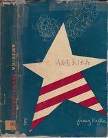 1946 Vtg Amerika Franz Kafka New Directions Classics Alvin Lustig Art Dustjacket
