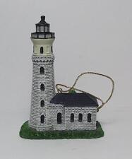 Lefton Christmas Lighthouse Ornaments-CCM12711-Fort Niagra Lighthouse
