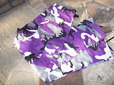 Purple Camo Pants Camouflage Cargo Pants Camouflage Bdu Pants Large Bdu Pants