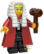LEGO MINIFIGURES SERIE 9 - MINIFIGURA JUDGE 71000 - ORIGINAL MINIFIGURE