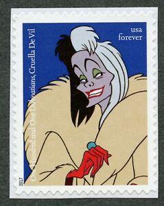 Cruella De Vil (One Hundred and One Dalmatians), 2017 United States, Scott #5219