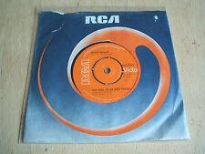 "elvis presley the girl of my best friend  1976 uk issue  7"" vinyl   45 rca 2729"