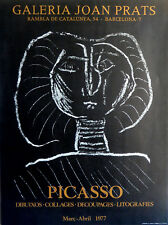 Pablo PICASSO (1881-1973) Lithographie 1977 Galeria Joan Prats