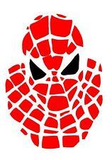 Spiderman A4 Stencil, Wall Art, Pittura Stencil, Genuine MYLAR riutilizzabili