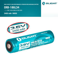 1pcs Olight 18650 3400mAh Rechargeable Battery Protected for M22 M3X S20 M18X1