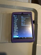 New Nextbook 8 Tablet With purple leather case