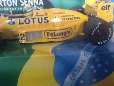 AYRTON Senna Minichamps LOTUS T99 TEAM CAMEL GP BRITANNICO 1987