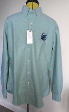 Nn07 Blue Cotton Long Sleeve Shirt. Slim Fit. Size XL