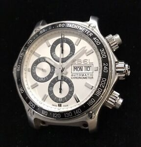 EBEL Discovery Stainless Automatic Chronometer Chronograph Watch ***NO BAND***