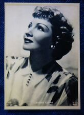 CINEMA - MINI FOTO - ACEO - CLAUDETTE COLBERT