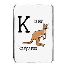 K es para CANGURO Funda Funda para iPad Mini 4 - Divertido AUSTRALIA Alfabeto