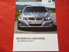BMW 3er E90 Limousine 318i 320i 325i 330i 335i 318d 320d 330d Preisliste 2009