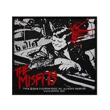 """""""Misfits: Bullet"""" Kennedy Single Cover Hardcore Punk Band Sew On Applique Patch"""