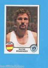 SPORT SUPERSTARS/EURO FOOTBALL 82-PANINI-Figurina n.61- BRABENDER - SPAGNA -Rec