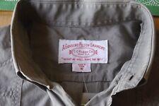 CC Filson Nwot,Women's Med. Short Sleeve Button Down Shooting Shirt Beige/Khaki