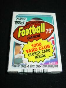 1988 Topps CELLO PACK : BO JACKSON RC #327 - ROOKIE Card on Back (SEALED)