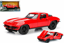 JADA FAST AND FURIOUS LETTYS CHEVY CORVETTE RED 1/24 DIECAST CAR MODEL 98298