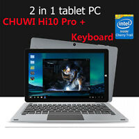 """CHUWI Hi10 Pro Tablet PC 10.1"""" Dual OS 1.44GHz 4GB+64GB with Original Keyboard"""