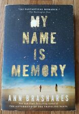 My Name is Memory Ann Brashares Paperback 2010 Fiction Novel Romance