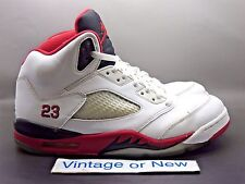 Air Jordan V 5 Fire Red Retro 2013 sz 10