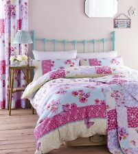 Catherine Lansfield Gypsy Patchwork King size  Quilt Cover