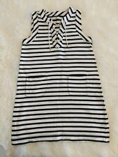 Kate Spade Sleeveless Nautical Stripe Dress Size Small S