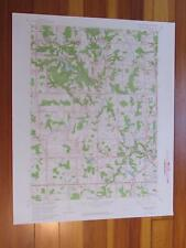 West Richfield Ohio 1964 Original Vintage USGS Topo Map