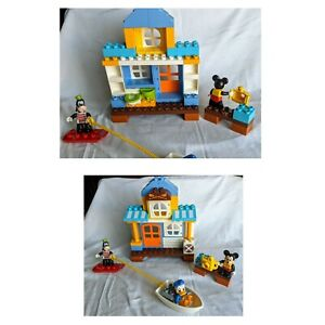 Lego Duplo 10827 Mickey & Friends Beach House (Used ; COMPLETE)