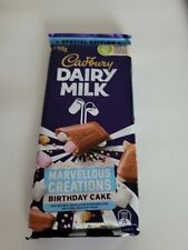 Cadbury DairyMilk marvellous creations Chocolate Australian special edition x2