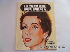 LA MEMOIRE DU CINEMA CATALOGUE RENE CHATEAU N°25 2006 DANIELLE DARRIEUX  K41