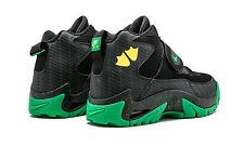 Nike Air MIssion PRM SZ 9 Oregon Ducks PE Black Apple Green Yellow OU 644103-001