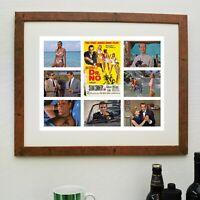 PHOTOGRAPH PORTRAIT ACTOR SEAN CONNERY BOND JAMES POSTER ART PRINT LV11028