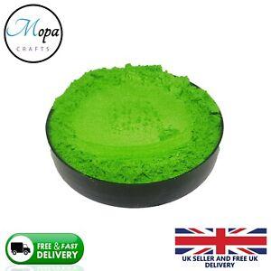Cosmetic Mica Powder Kiwi Green Pigment Soap Bath Bombs  Nail Art Resin