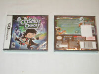NEW Cosmos Chaos! Nintendo DS Game SEALED cosmic light lite dsi kaos space NTSC